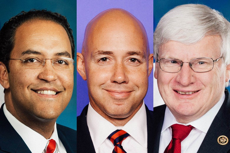 Congressmen Will Hurd, Brian Mast, and Glenn Grothman.