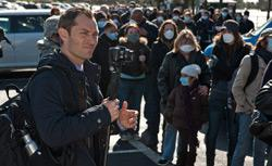 Jude Law in Contagion. Click for larger image.