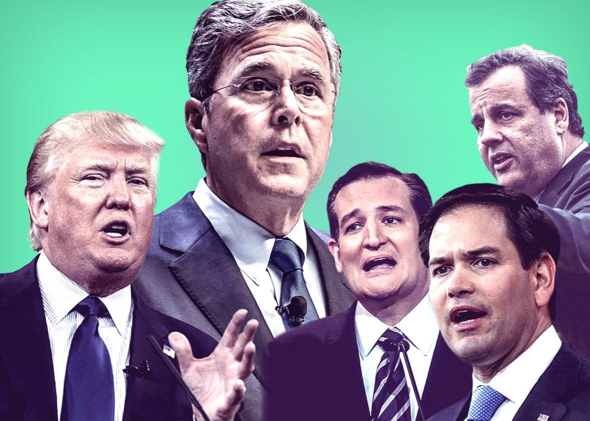 Republican presidential debate.