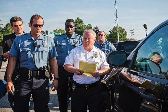 Ferguson Police Chief Thomas Jackson