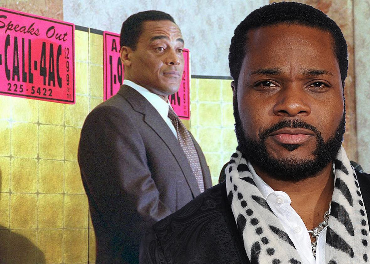 Al Cowlings and Malcolm-Jamal Warner.