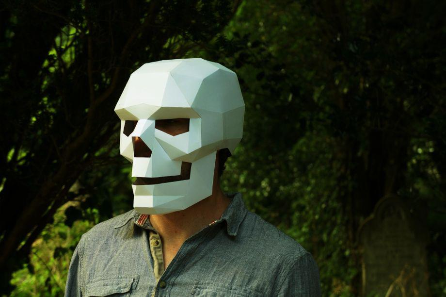 Designer DIY Masks That Make Unique and Inexpensive Halloween Costumes