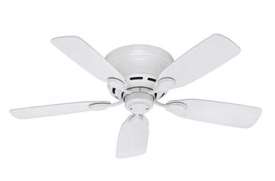 Hunter 51059 Low Profile IV 5-Blade Ceiling Fan.