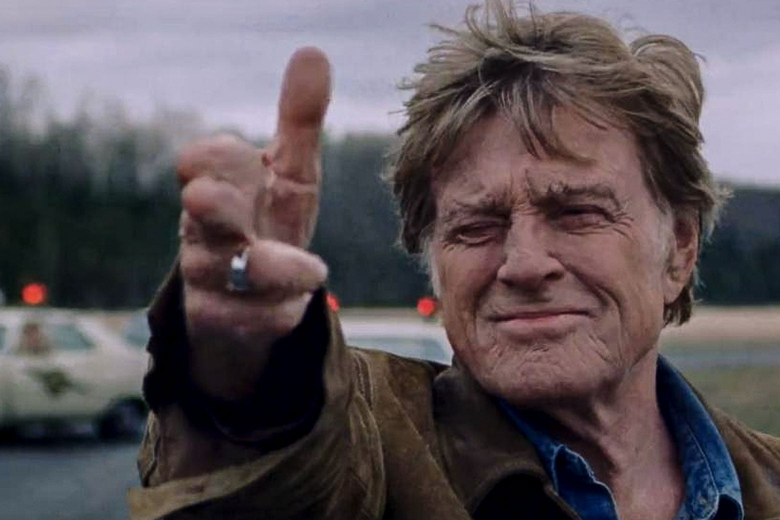 Robert Redford in The Old Man and the Gun.