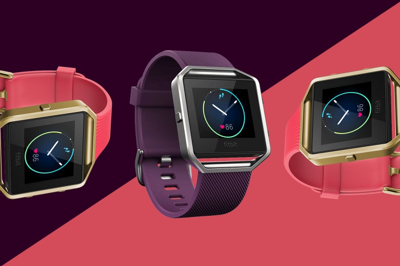 Fitbit smartwatches.