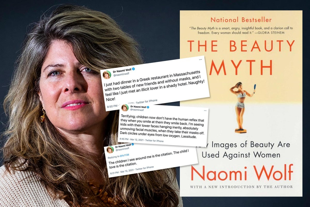 Does Naomi Wolf S The Beauty Myth Hold Up What I Think Of It Now That She An Anti Masker