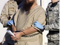 A detainee at Guantanamo Bay. Click image to expand.