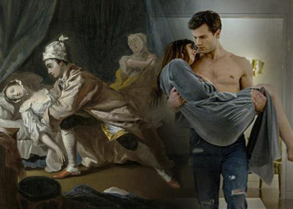 Pamela and Fifty Shades of Grey