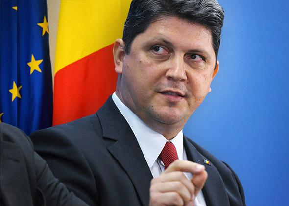 Romanian Foreign Minister Titus Corlatean
