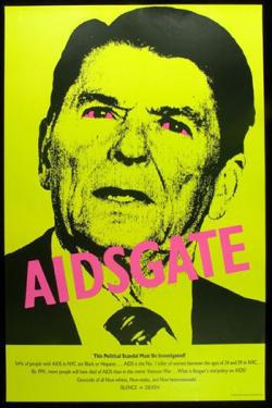 AIDSGATE campaign poster.
