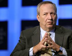 U.S. National Economic Council Director Lawrence H. Summers.