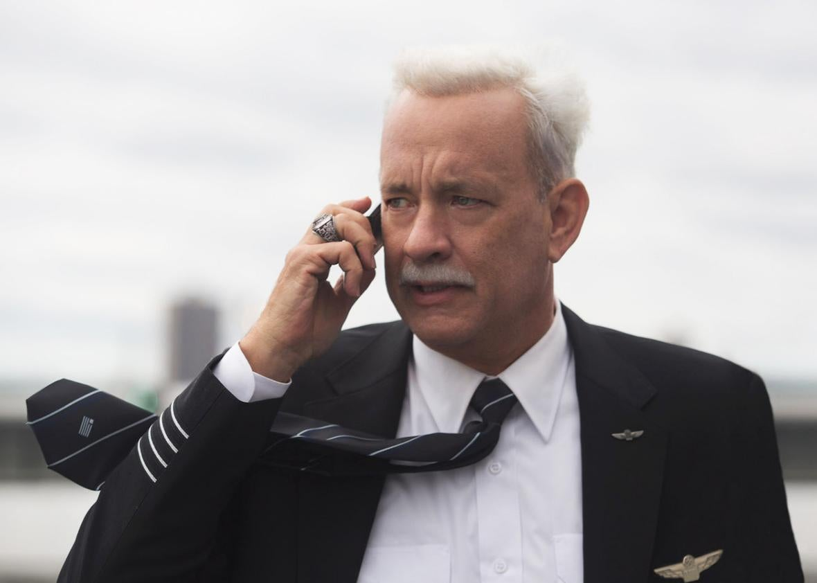 Tom Hanks as Chesley Sullenberger in Sully.