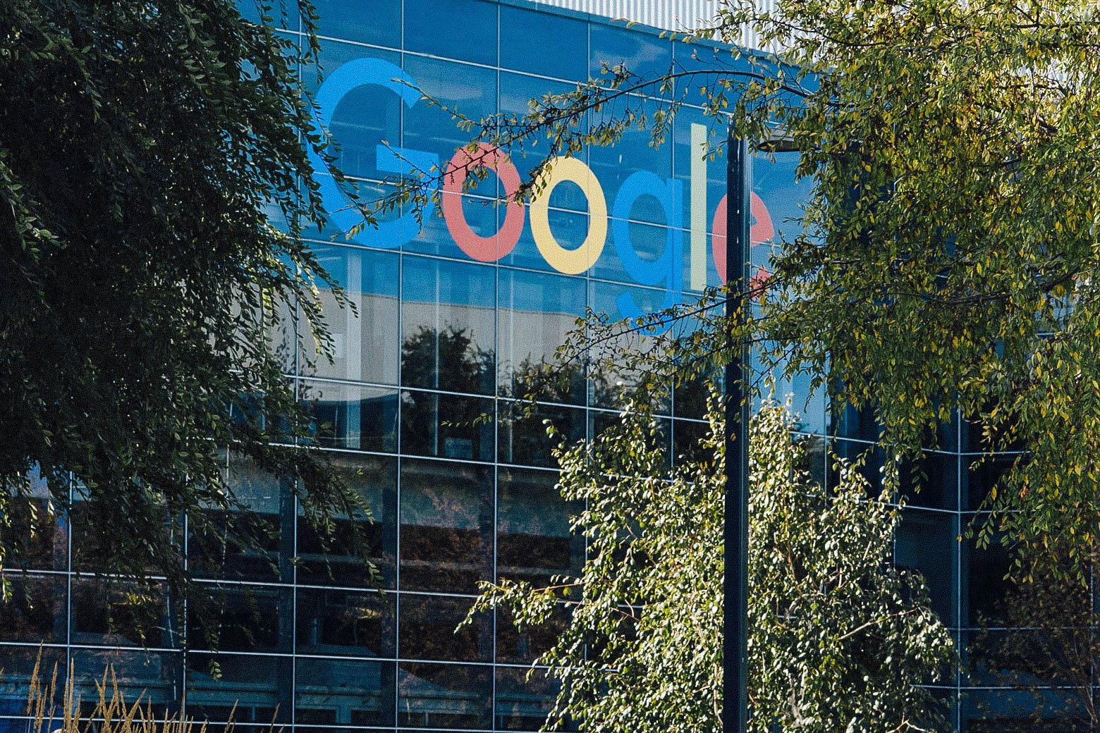 The Google campus in Mountain View, California, was one of the sites of employee protests on May 1, 2019.