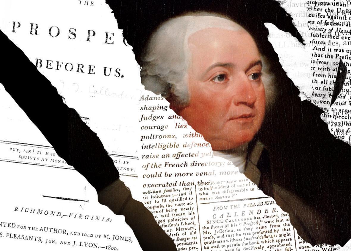John Adams smear campaign