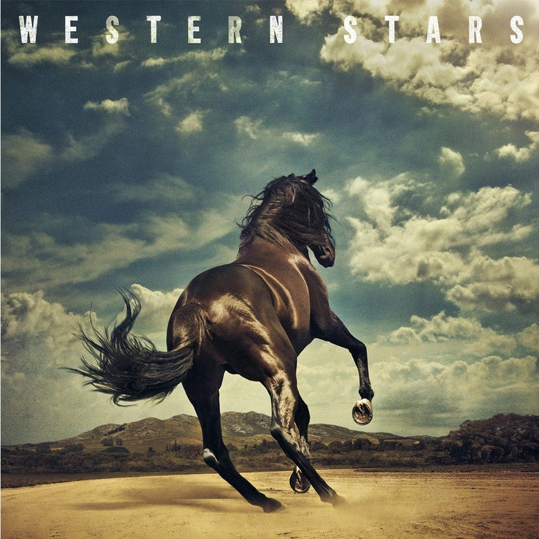 Western Stars album cover