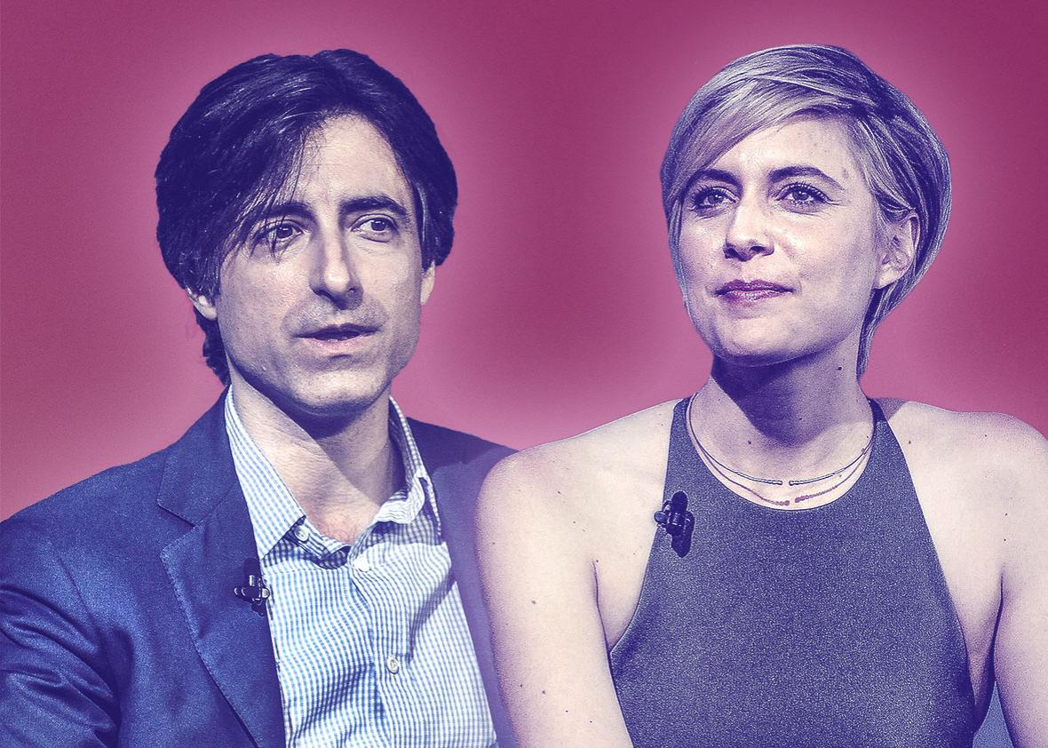Director Noah Baumbach and actress Greta Gerwig.