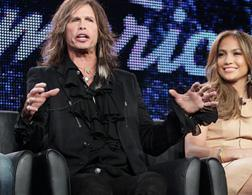 Steven Tyler on American Idol. Click image to expand.