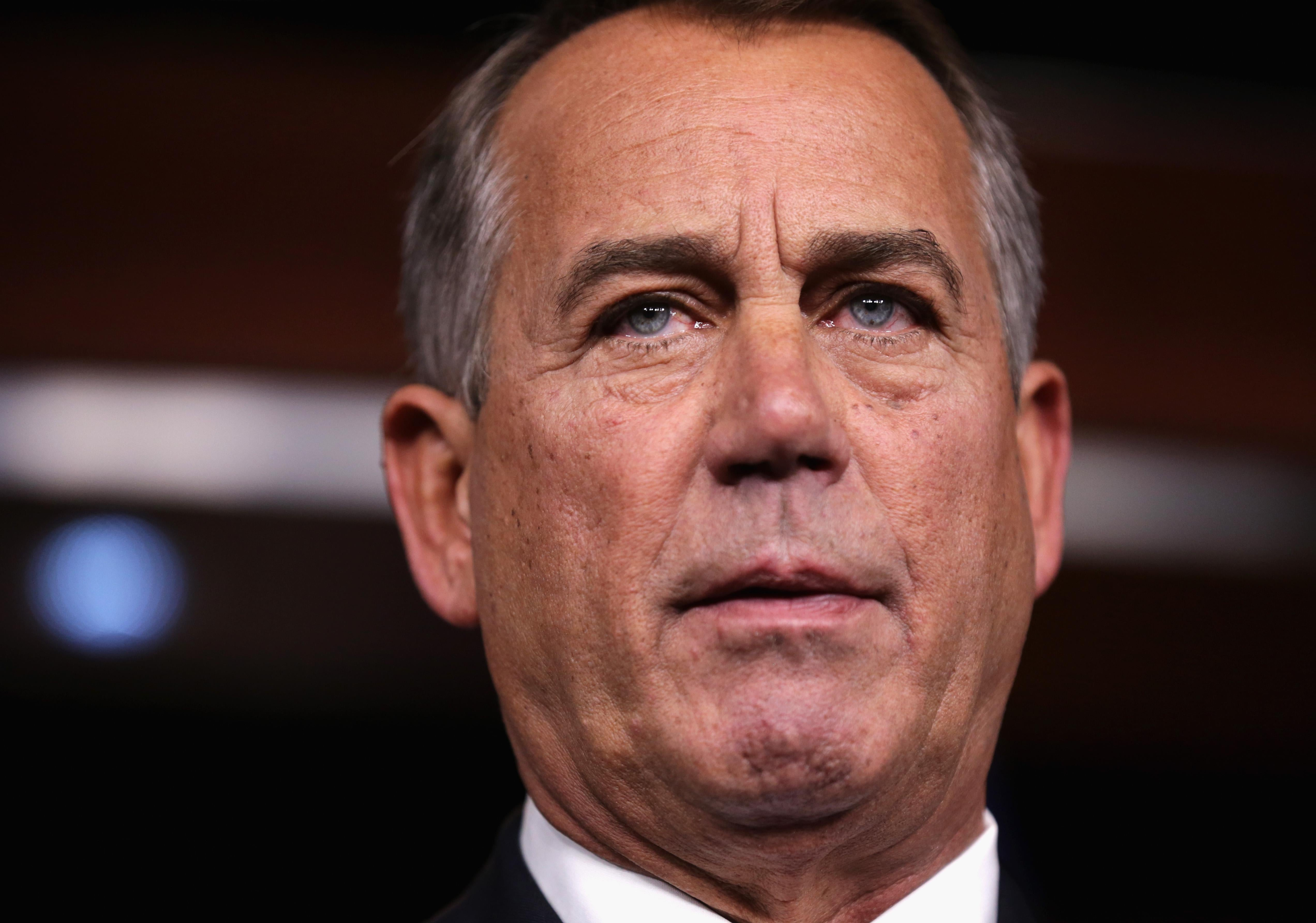 The Media blows it, says Boehner is backing away from immigration reform.
