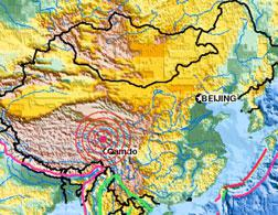 The 2010 Chinese earthquake.