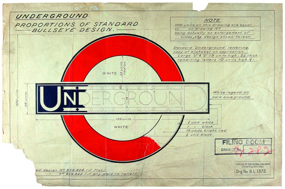 A History of London's Iconic Transport Logo