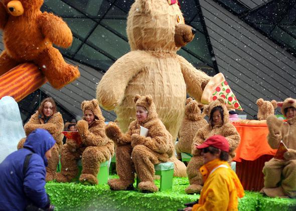 Toronto Christmas parade in 2008.