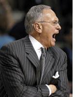 Fair-weather coach Larry Brown