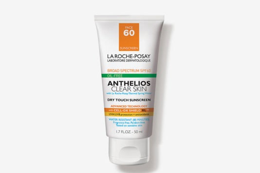 La Roche-Posay Anthelios Clear Skin Dry Touch Sunscreen.