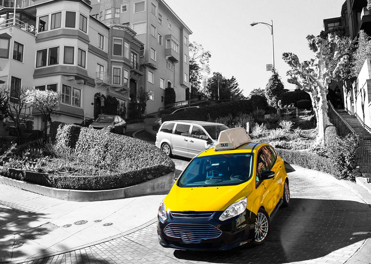 Yellow Cab in San Francisco is just the beginning  Uber's war on