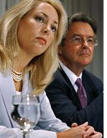Valerie Plame and Joseph Wilson. Click image to expand.