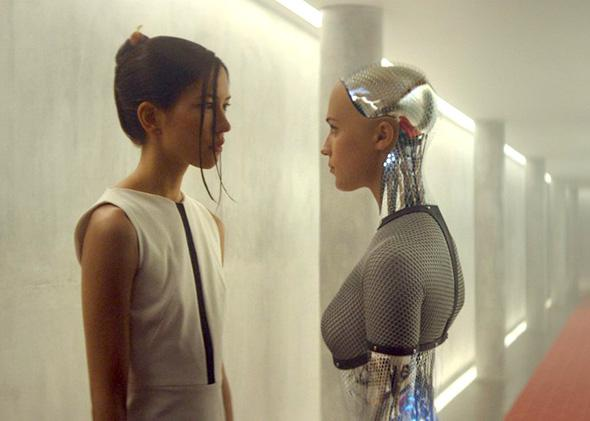 Alicia Vikander in Ex Machina.