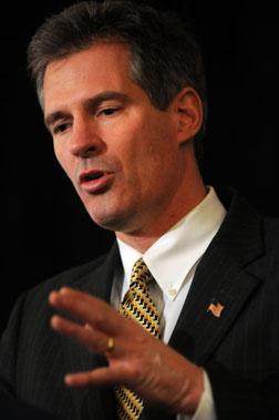 U.S. Senator-Elect Scott Brown .