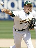 The Oakland A's Huston Street         Click image to expand.