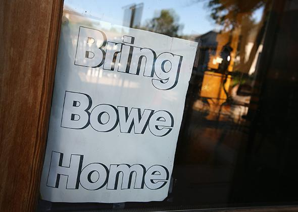 Bring Bowe Home Sign.