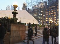 Bryant Park preparing for Fashion Week. Click image to expand.