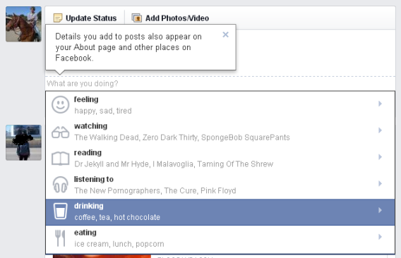Facebook emoji: What are you doing?