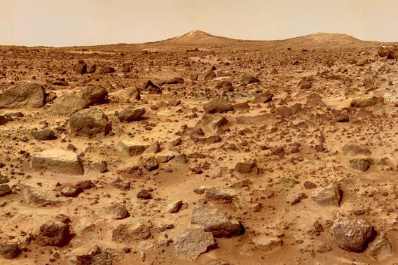 Twin Peaks, Mars.