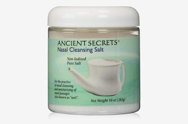 Ancient Secrets Nasal Cleansing Salt.