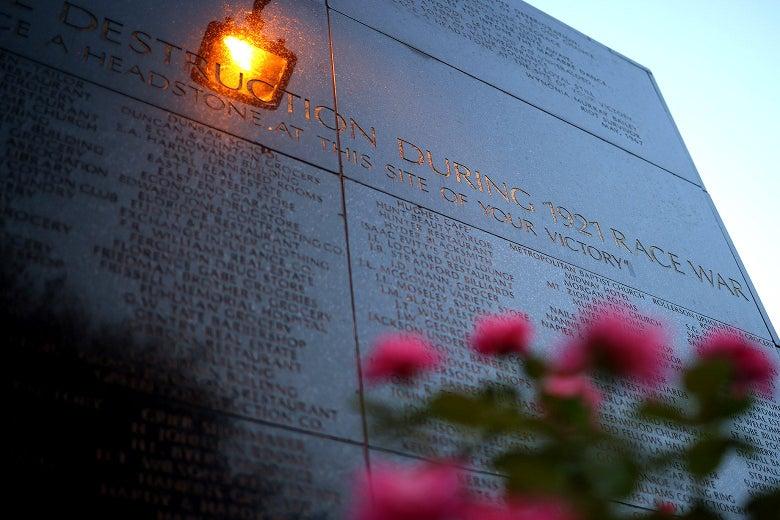 The Black Wall Street Massacre memorial