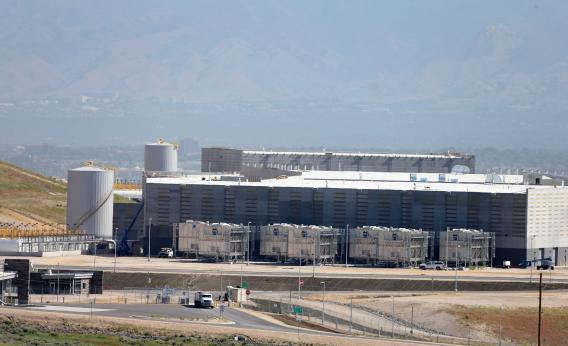 A new National Security Agency (NSA) data center, June 10, 2013 in Bluffdale, Utah