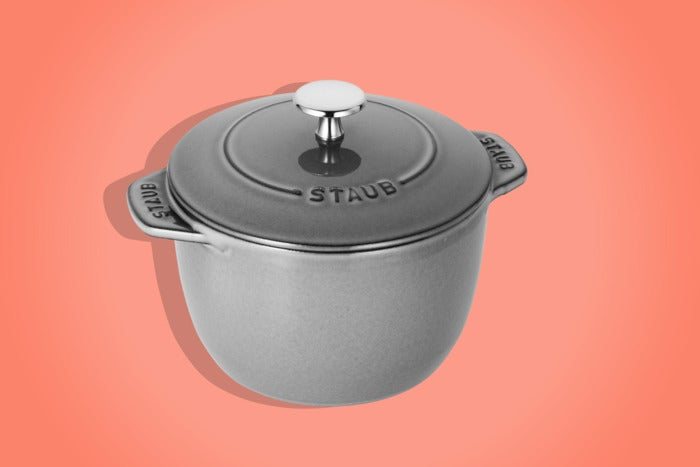 Staub Cast-Iron 1.5-Quart Petite French Oven.