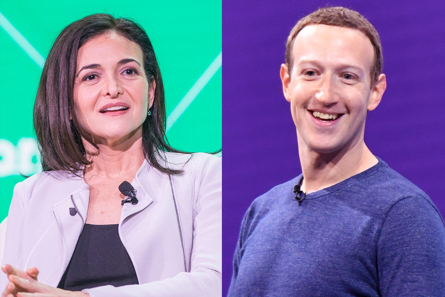 """After the 2016 election, Mark Zuckerberg went on a """"listening tour"""" while Sheryl Sandberg reportedly orchestrated an oppo campaign against Facebook's critics."""
