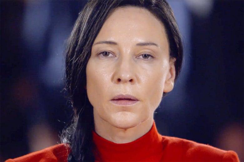 Cate Blanchett as Izabella Barta in Documentary Now!