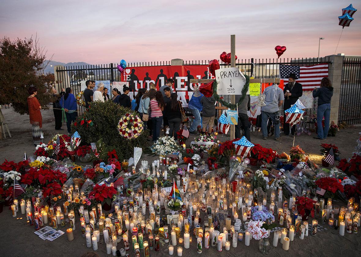 San Bernardino Memorial.