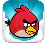 Angry Birds iPhone app icon.