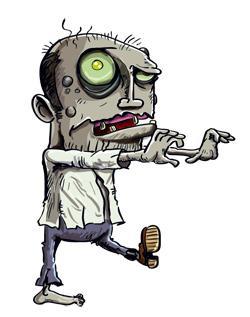 Climate denial zombie
