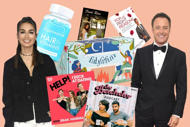 Books, podcasts, and products from The Bachelor universe.