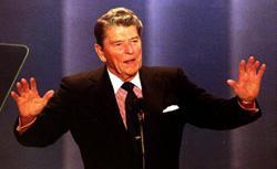 Ronald Reagan. Click image to expand.