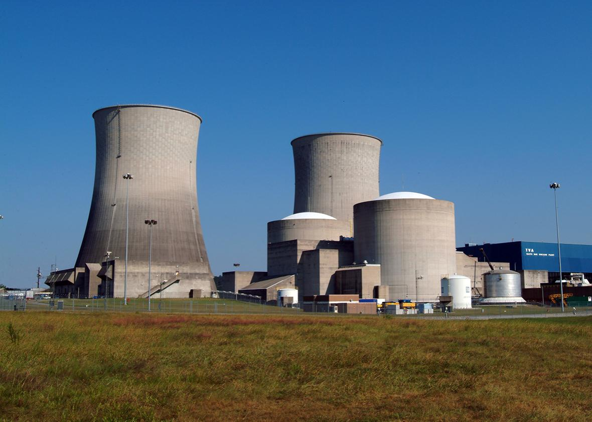 Tennessee Valley Authority Watts Bar Nuclear Generating Station.