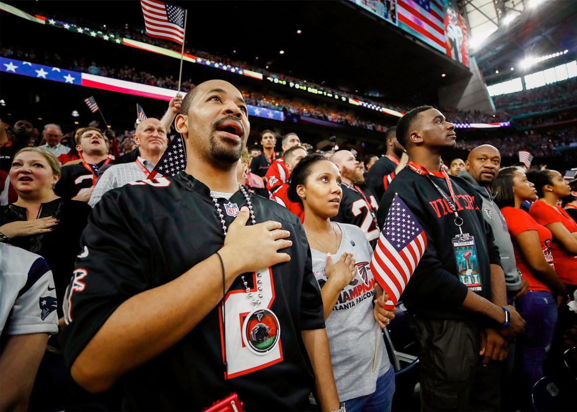 Super Bowl National Anthem