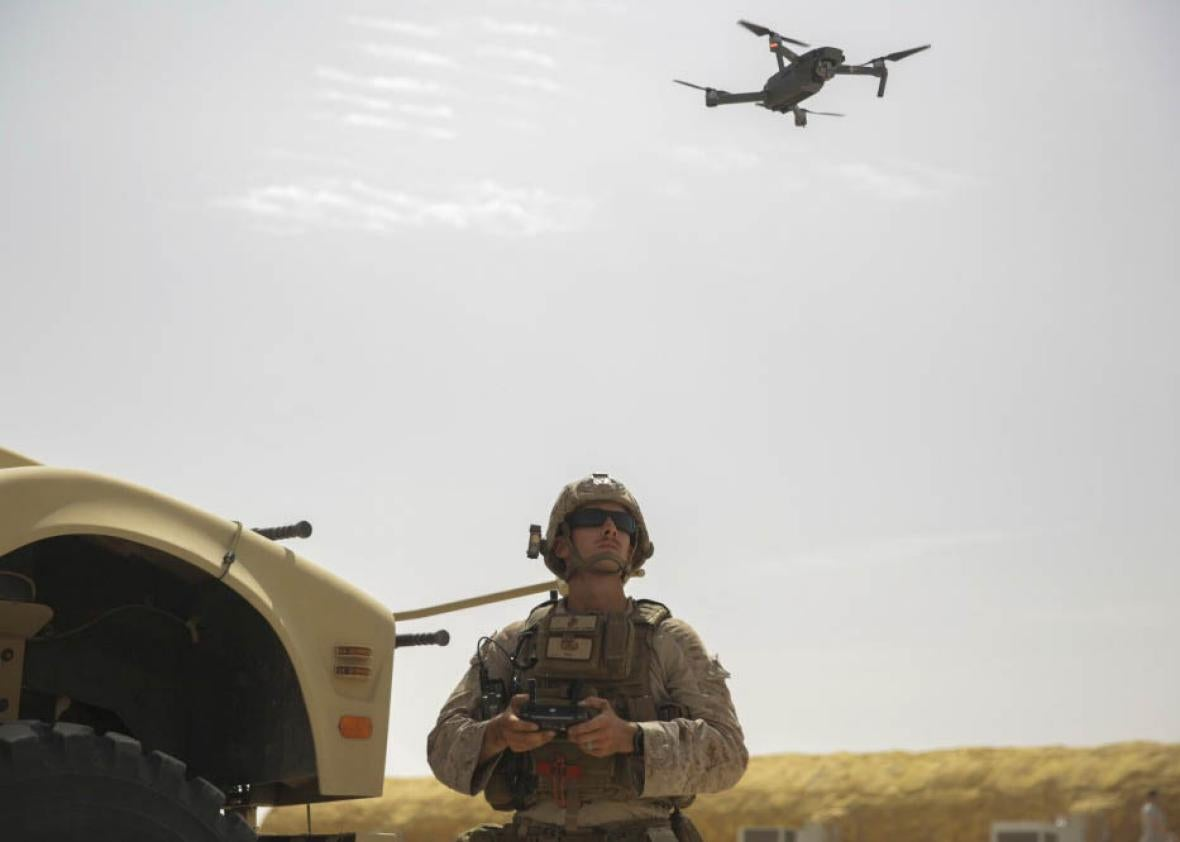 The U S  military shouldn't use commercial drones